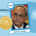 FIFA scandal collector cards Burga