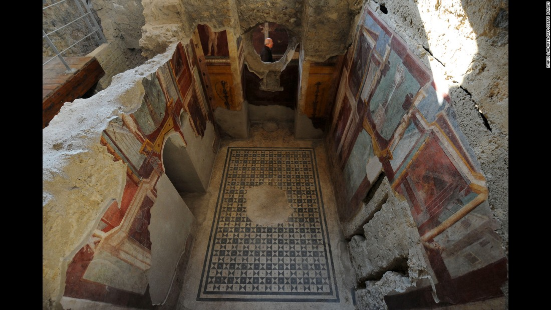 Restored Pompeii Homes Unveiled Cnn Com