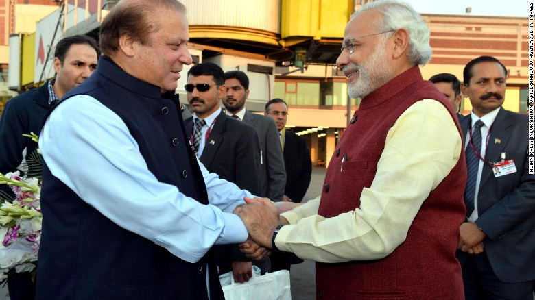 Indian Prime Minister on surprise trip to Pakistan