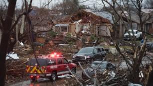 Dallas-area tornadoes