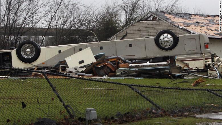 Rv Net Open Roads Forum Rv Park Destroyed In Tornado Dfw