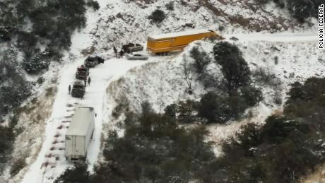cnnee mexico latest snow