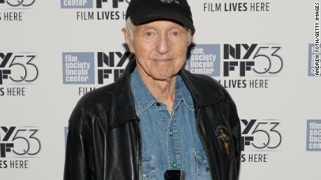 """NEW YORK, NY - OCTOBER 06:  Cinematographer Haskell Wexler attends the """"Rebel Citizen"""" screening during 53rd New York Film Festival at The Film Society of Lincoln Center, Walter Reade Theatre on October 6, 2015 in New York City.  (Photo by Andrew Toth/Getty Images)"""