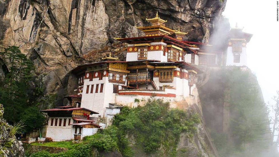 The mountain kingdom of Bhutan is home to some of the most stunning peaks and gorges found on Earth. Abercrombie & Kent's Heart of the Himalayas tour includes a visit to the stunning Tiger's Nest Monastery.