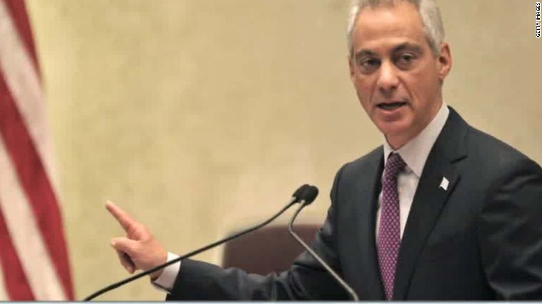 chicago mayor rahm emanuel cuts vacation short police shooting flores sot nr_00003805