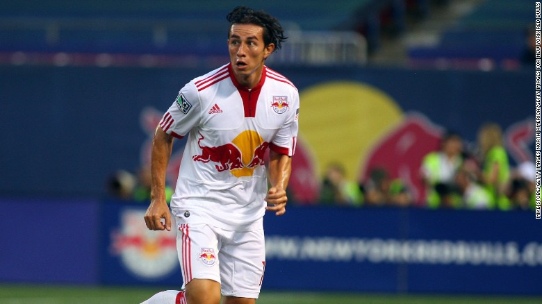 Alfredo Pacheco spent a season on loan at the Major League Soccer team New York Red Bulls in 2009. He was shot to death on Sunday in El Salvador.