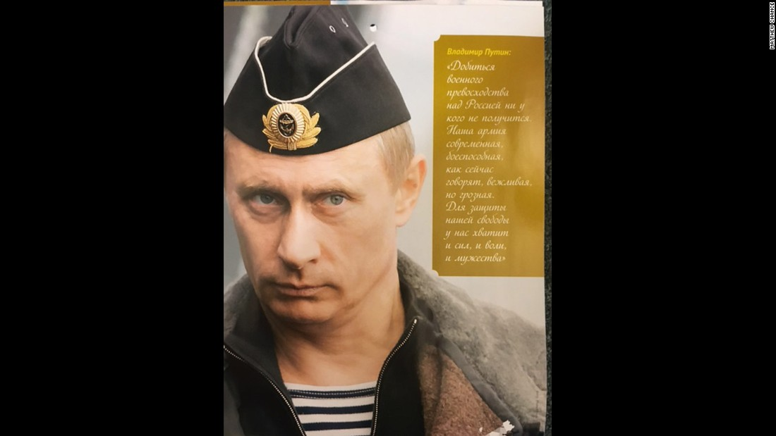 """""""No one will succeed in gaining military superiority over Russia. Our army is modern, effective and -- as they now say -- polite and formidable. We have enough will, force and courage to protect our freedom.""""<br />"""