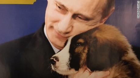 No shortage of Vladimir Putin paraphernalia in Russia