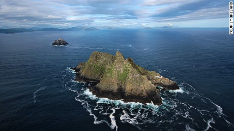 After starring in Star Wars: Episode VII -- The Force Awakens, Ireland's Skellig Michael island is suddenly a hot property.