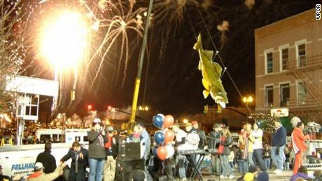 Six zany New Year's Eve 'drops'