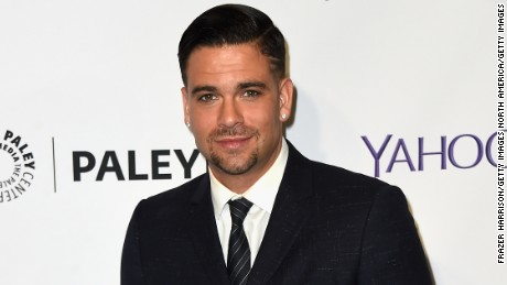 """HOLLYWOOD, CA - MARCH 13:  Actor Mark Salling arrives at  The Paley Center For Media's 32nd Annual PALEYFEST LA - """"Glee"""" at Dolby Theatre on March 13, 2015 in Hollywood, California.  (Photo by Frazer Harrison/Getty Images)"""