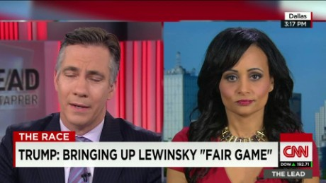 Trump: Bringing up Lewinsky 'fair game'