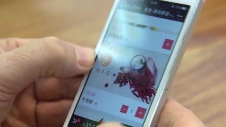 china restaurant smart phone waiters stevens pkg_00014829