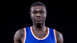 The Knicks' Cleanthony Early.