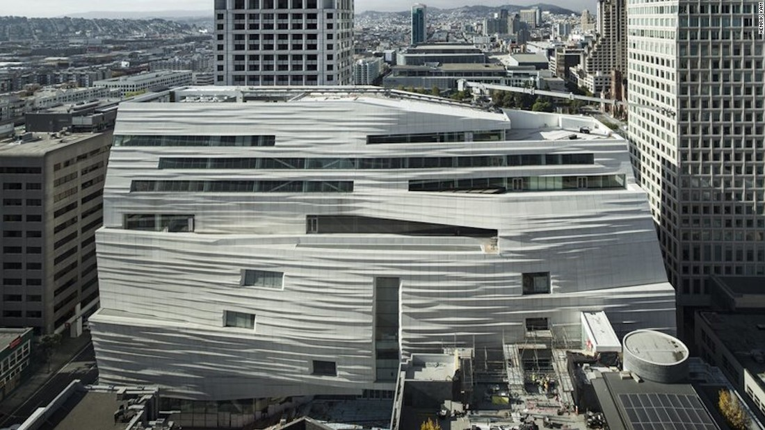 Move over, Manhattan. There's a new MoMA in town and this one's three times bigger. Due to open in May, San Francisco's 10-story SFMOMA will be the largest modern art museum in the United States.