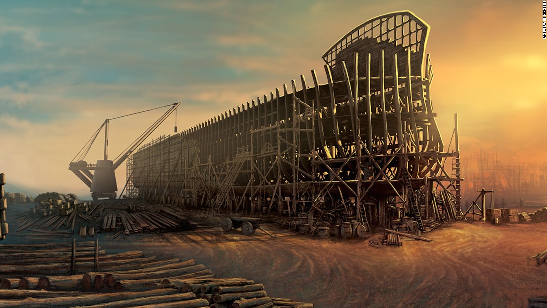If participating in a simulated Biblical disaster sounds like your ideal vacation then northern Kentucky's forthcoming Ark Encounter might just float your boat. The megastructure cost $92 million to build.