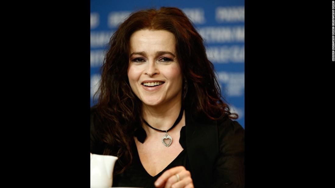 Jolly good! British actress Helena Bonham Carter turned 50 on May 26.