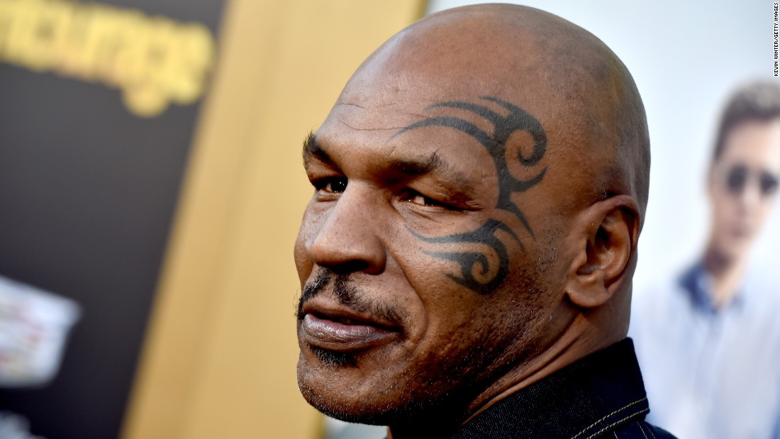 """Hopefully, Mike Tyson didn't have a """"Hangover"""" after he celebrates his 50th on June 30."""
