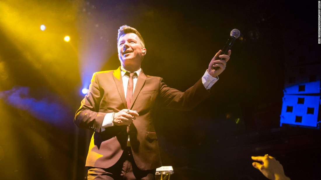 """You are not being Rickrolled. """"Never Gonna Give You Up"""" singer Rick Astley turned 50 on February 6."""