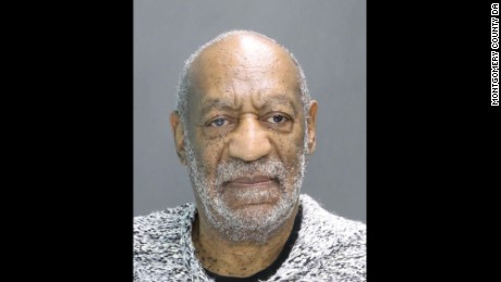The Montgomery County District Attorney's Office released a booking photo of Bill Cosby after Wednesday's proceedings.