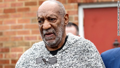 US comedian Bill Cosby leaves December 30, 2015 the Court House in Elkins Park, Pennsylvania after arraignment on charges of aggravated indecent assault. Cosby was arraigned over an incident that took place in 2004 -- the first criminal charge filed against the actor after dozens of women claimed abuse.AFP PHOTO/KENA BETANCUR / AFP / KENA BETANCUR        (Photo credit should read KENA BETANCUR/AFP/Getty Images)