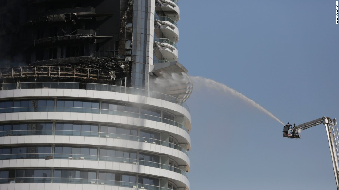 Dubai hotel fire flames shoot out of address hotel for List of hotels in dubai with contact details