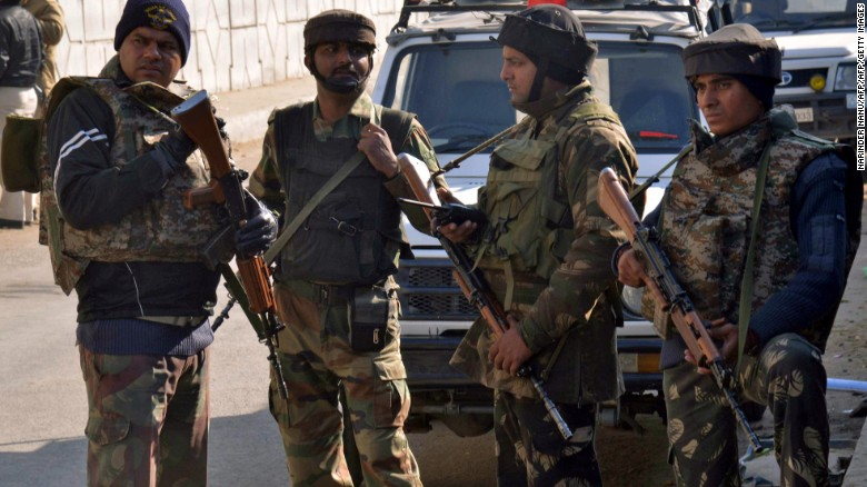 7 dead in India air base