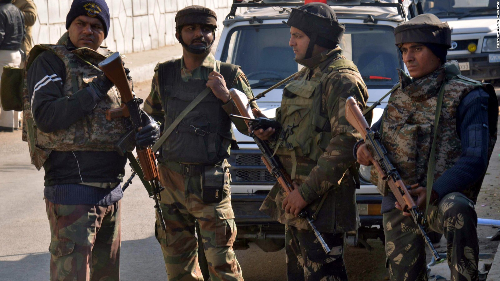 3 killed in attack on India air base; all 5 attackers dead, official says