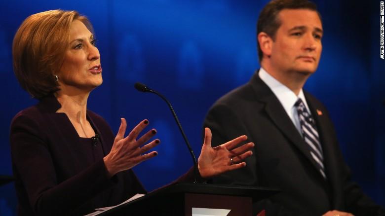 Fiorina slams Cruz as inconsistent