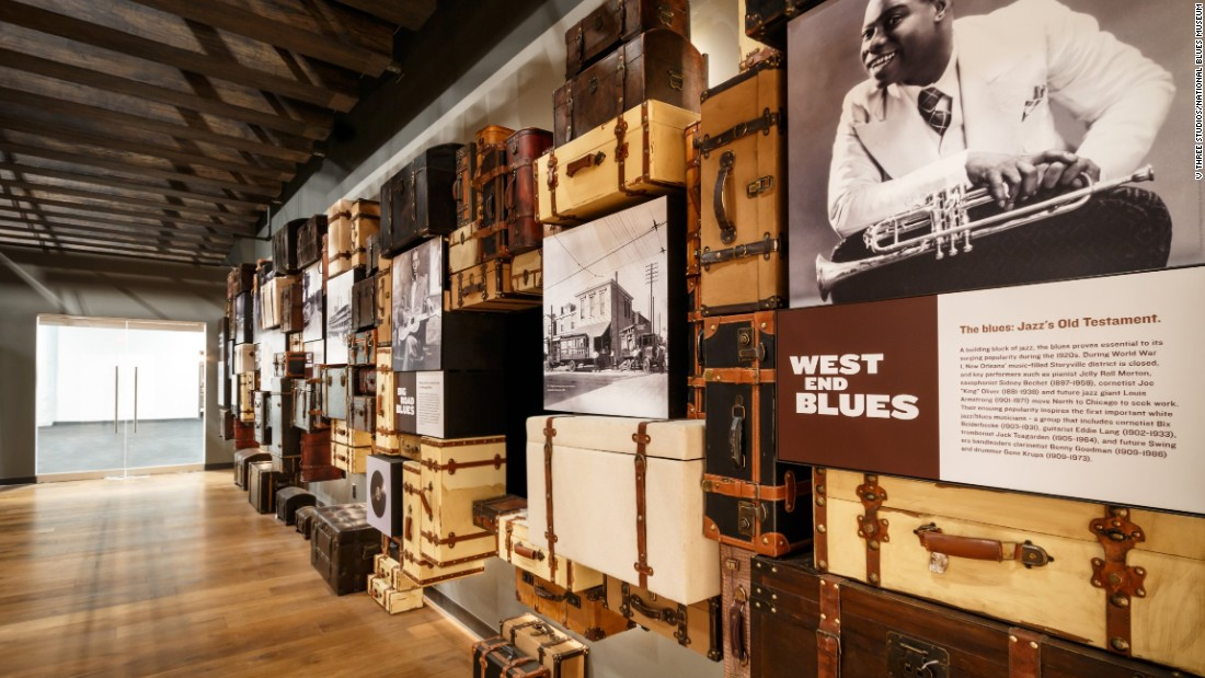 The National Blues Museum is set to open in St. Louis in April. Visitors will be able to trace the historical migration of the blues and compare music from different regions.