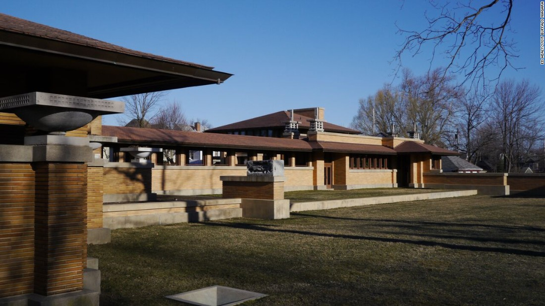 The $50 million restoration of Frank Lloyd Wright's Darwin Martin House Complex should be complete in the fall. The complex is just one of Buffalo, New York's, architectural gems.