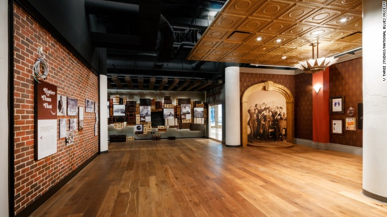 The National Blues Museum is set to open in St. Louis in April.