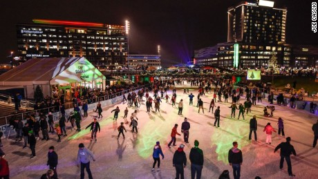Canalside is an all-season entertainment district in Buffalo.