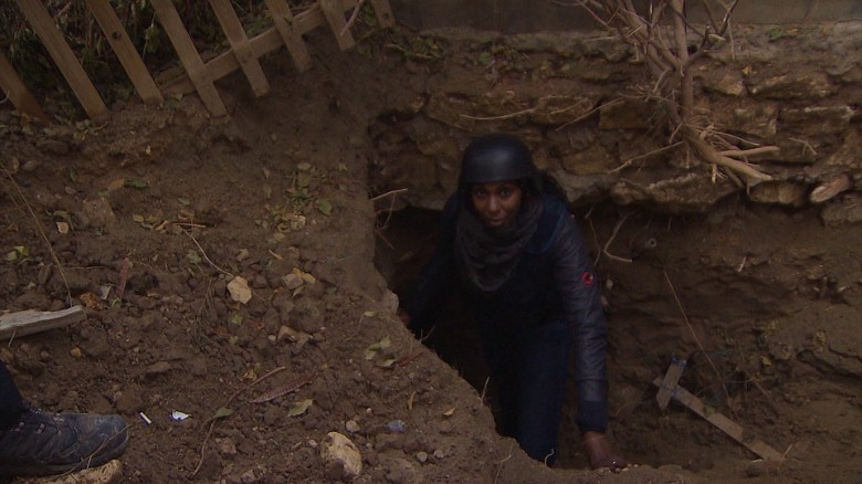 Inside an ISIS escape tunnel