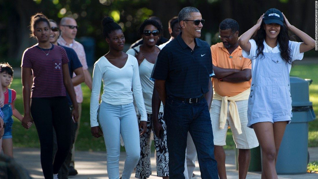 The Obamas 39 Christmas In Hawaii