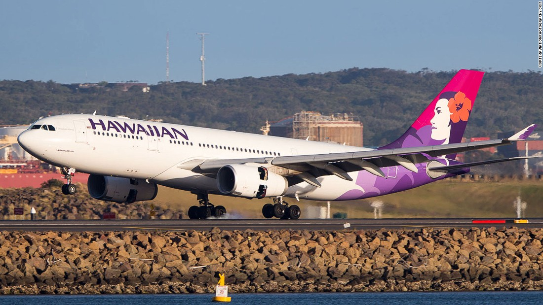 As well as a seven-star safety rating, Hawaiian Airlines has won praise for the best in-flight offering for economy passengers on flights between the United States and Hawaii.