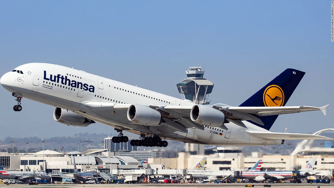 Lufthansa is another regular on the top 20 list. The German carrier is the largest airline in Europe, just ahead of Irish operator Ryanair.
