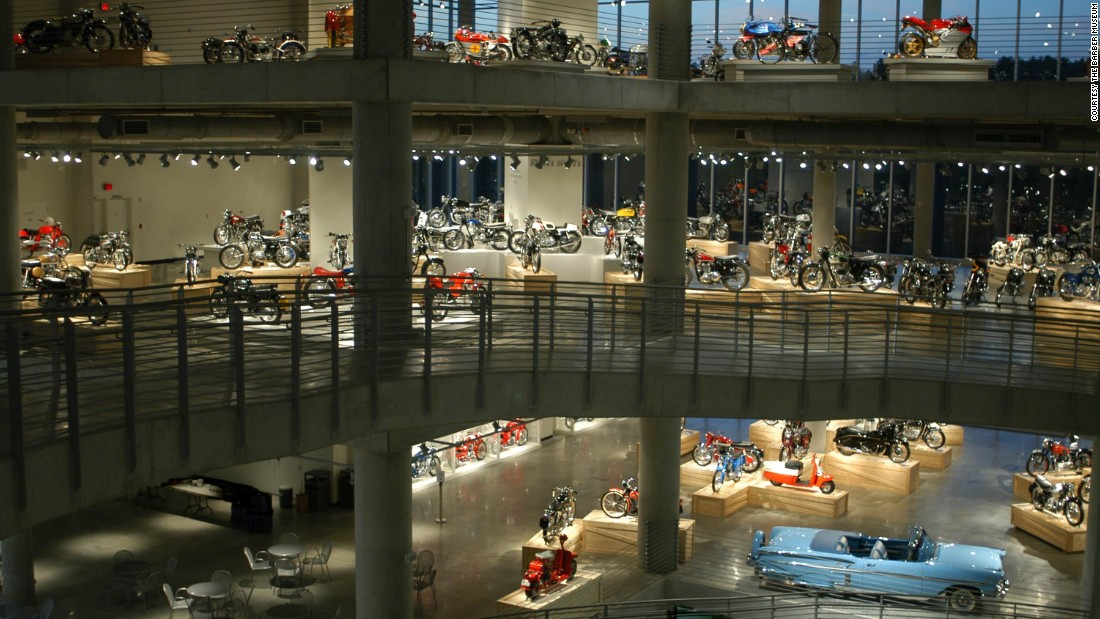 Barber Vintage Motorsports Museum -- home to the world's largest collection of motorcycles -- is undergoing a $15 million expansion, adding 84,650 square feet to its existing 144,000 square-foot facility in Birmingham, Alabama. The expansion is expected to be ready in October.