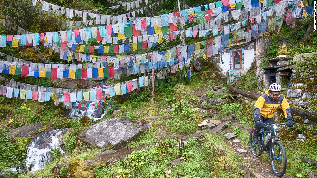 "Bhutan officially targets ""high value, low impact"" tourism."