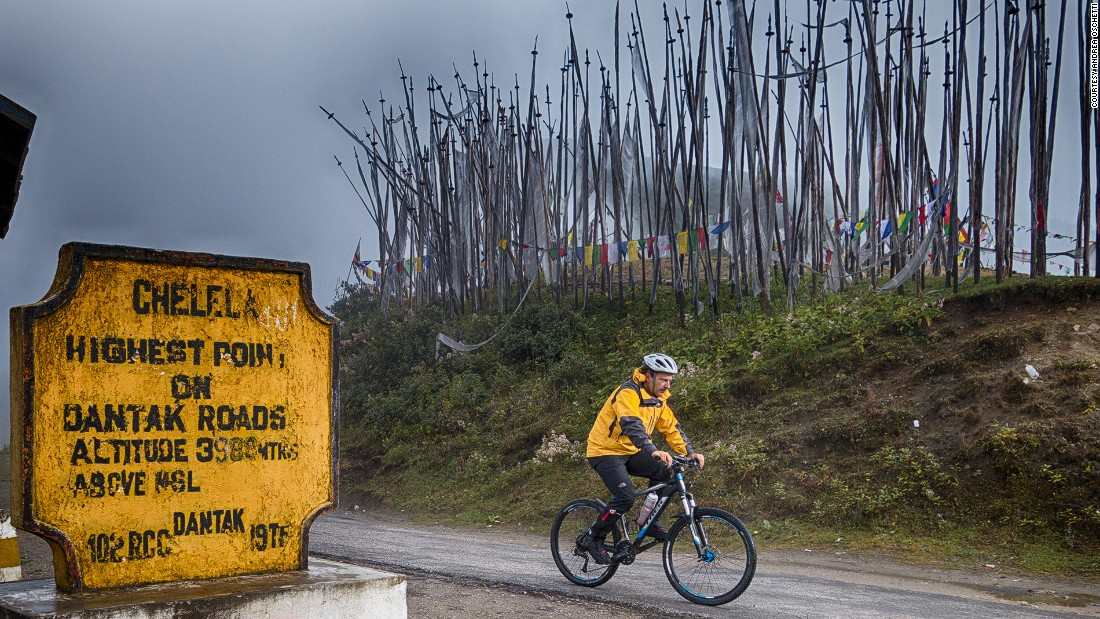 Cycling is an emerging tourist activity in Bhutan.