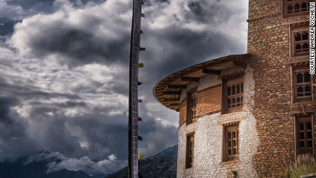 Bhutan's National Museum sits above the Paro Dzong, also known as Rinpung Dzong.