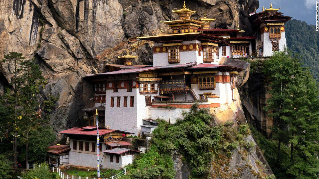The Taktsang Lhakhang monastery is Bhutan's most famous attraction.