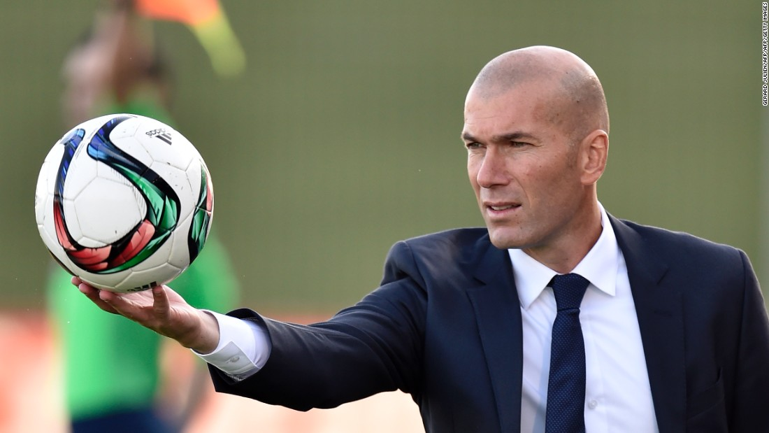 Since 2014,  Zidane has been in charge of Real's B team -- Real Madrid Castilla -- which plays in the third tier of Spanish football.