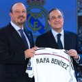 Rafael Benitez sacked Real Madrid unveiling