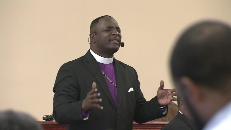 During sermon on violence, N.C. pastor confronts man with rifle