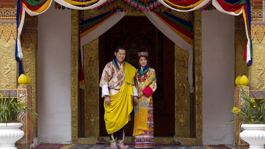 Oxford-educated Bhutanese King Jigme Khesar Namgyel Wangchuck married Queen Jetsun Pema in 2011.