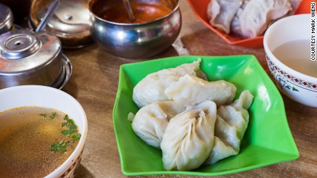 Wangchen: One of the most popular momo restaurants in Thimphu.