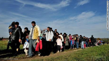 How do you keep a million refugees healthy?
