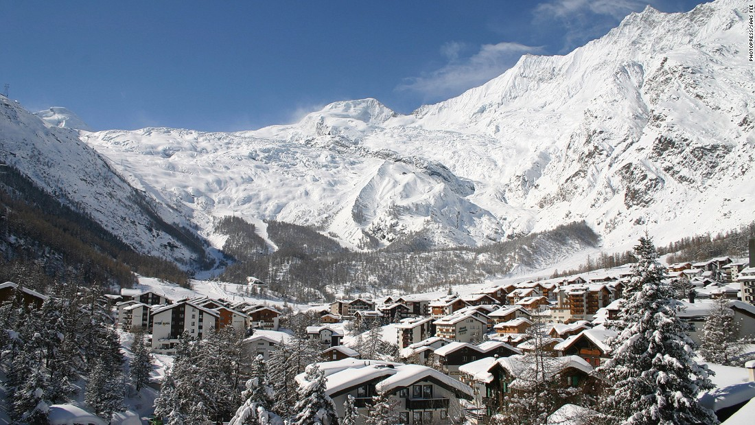 Saas-Fee is home to the world's highest revolving restaurant, three s!xty, which is a perfect spot for taking in the panorama of 4,000 meter peaks -- including the Dom, the Taschhorn and the Alphubel -- which dot the skyline.