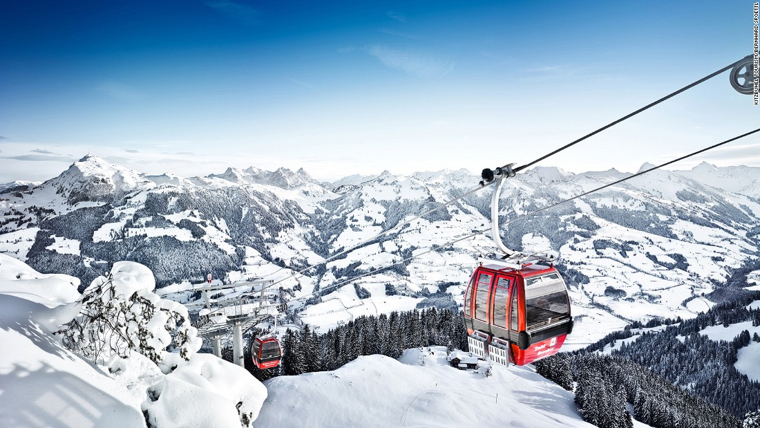 The Tyrolean town of Kitzbuehel hosts the historic Hahnenkamm race every January, when the world's best ski racers fling themselves down a steep ribbon of ice -- 40.4 degrees at one point -- known as the Streif.